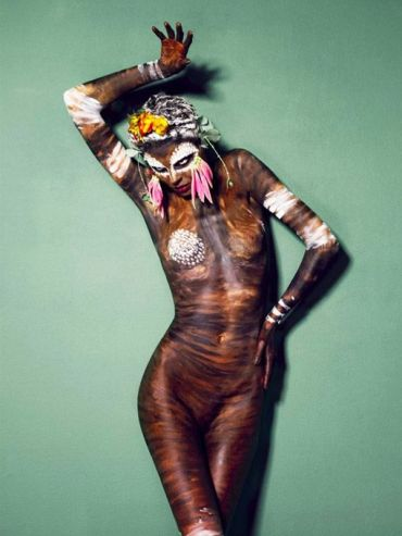 Bodypainting Photography Body Human Canvas Art Colors