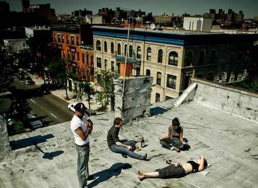 brooklyn new york chillin block party chill beats bed stuy