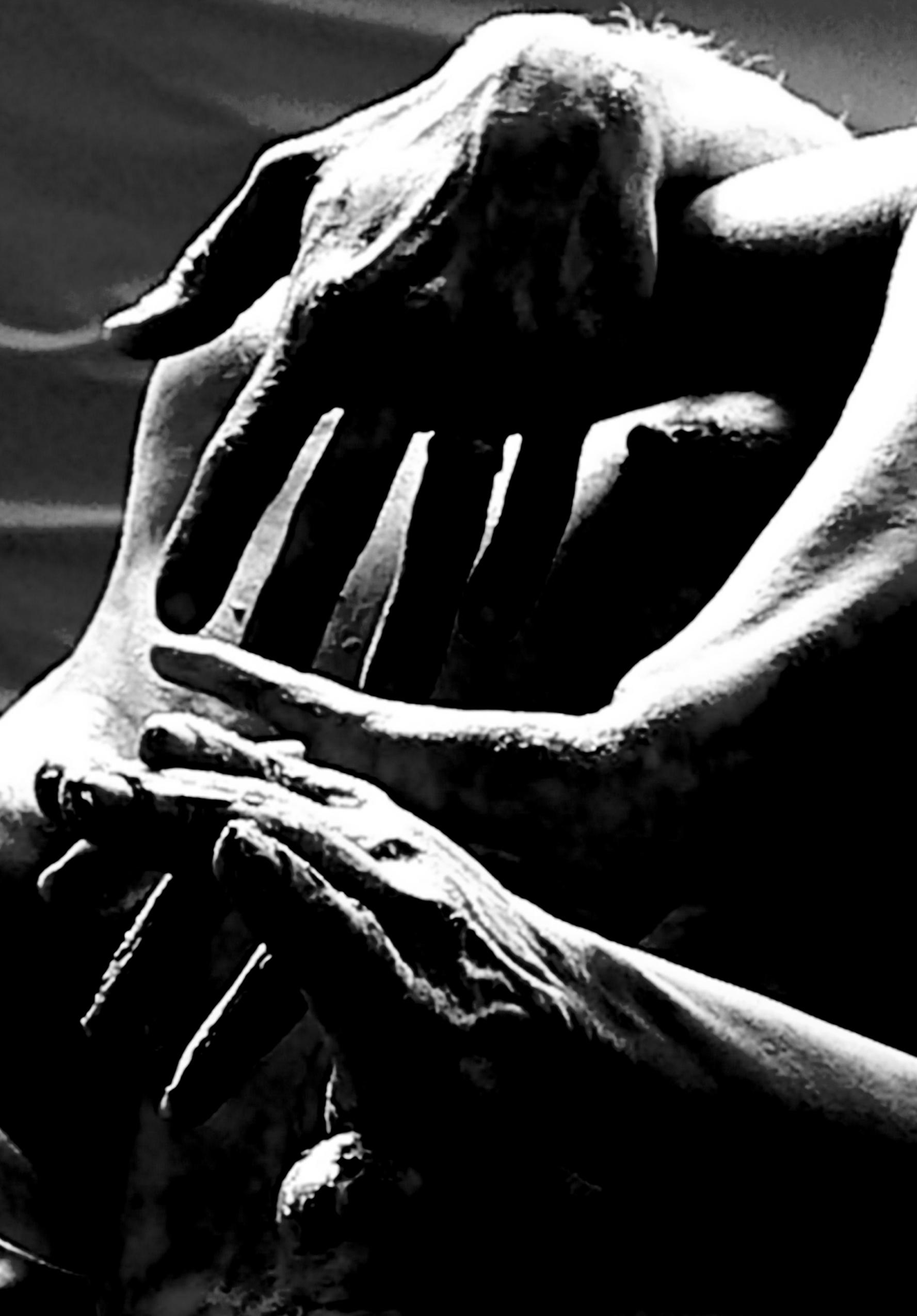 Hands main photography jeux de main noir et blanc couleur bligidyblog - Smiley noir et blanc ...