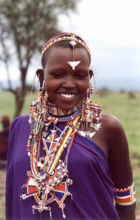 bijou africain femme